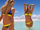 желто-синие купальники Calzedonia