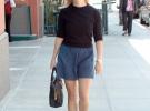 джинсовая юбка с кофтой