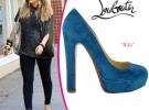 Hilary Duff в туфлях лабутенах