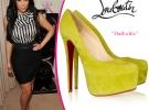 Kim Kardashian в туфлях лабутенах