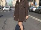красные туфли с пальто