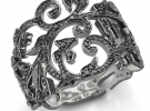 Кольцо TOUS Ivy из белого золота