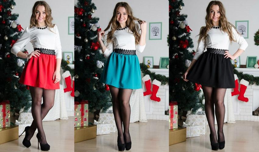 стильная юбка колокол