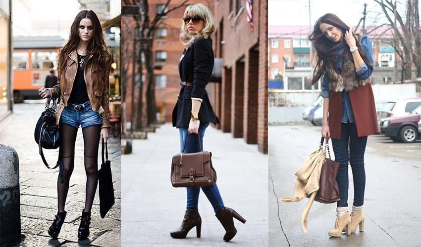 Женские ботильоны - стильная и эффективная обувь