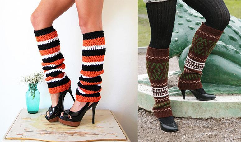 Гетры - стильное дополнение к гардеробу девушки