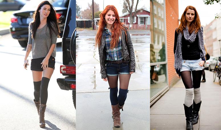 Гетры хорошо сочетаются с любым стилем одежды