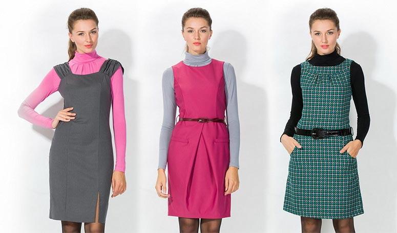 Сарафан для офиса: как подобрать и с чем носить