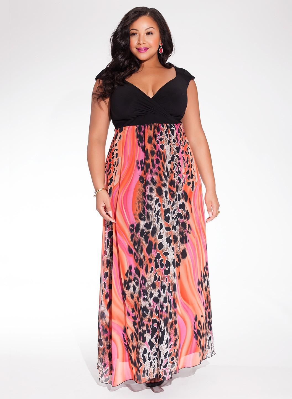 Модные сарафан для полных девушек