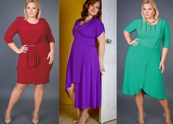 Как полной девушке выбрать вечернее платье по фигуре