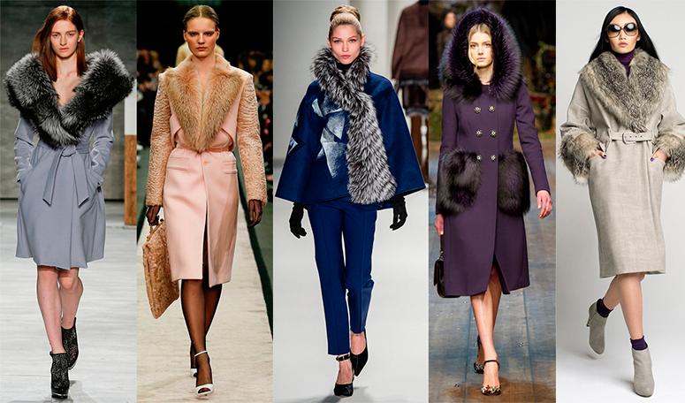 Модные женские зимние пальто 2017