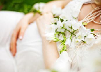 Свадебное платье для беременных: каким оно должно быть?