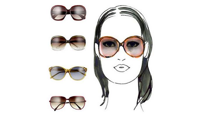 Очки для продолговатого лица