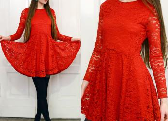 А вы знали, что с ЭТИМ можно носить красное платье?
