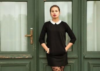 На сцене чёрное платье