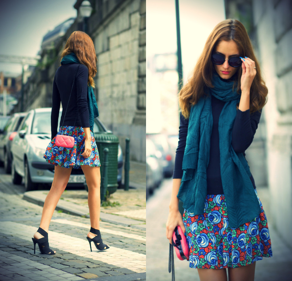 Цветочная юбка