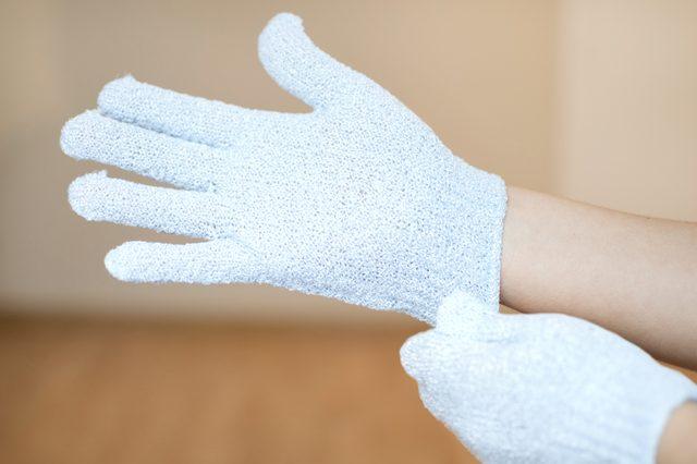 Отшелушивающая перчатка для душа