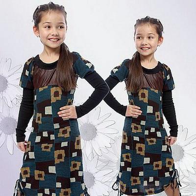 Коктейльные платья для девочек с рукавами.