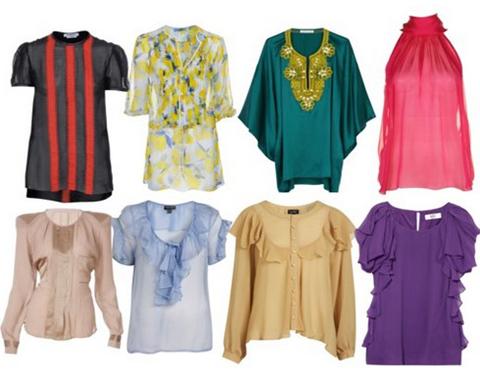 Как выбрать блузку девушке? Тенденции на лету и весну 2018.